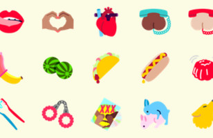 Flirtmoji Serves Up All The NSFW Emojis You Ever Wanted*