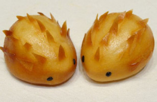These Sweet & Spiky Hedgehog Dumplings Are Adorable