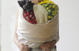 The Giant Burrito Body Pillow Is Both Parts Cozy & Delicious