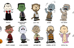 See Charlie Brown Reimagined As Horror Movie Villains