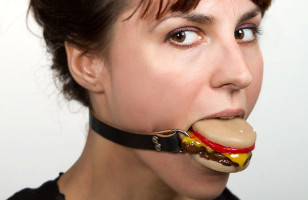 So The Cheeseburger Ball Gag Is A Thing That Exists