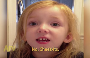 A Little Girl Learns About Cheez-Its In Sunday School