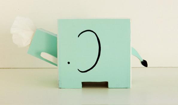 elephant-tissue-holder