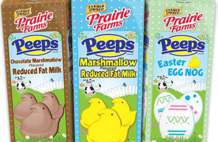 Get Strong Bones AND A Sugar High With Peeps Flavored Milk