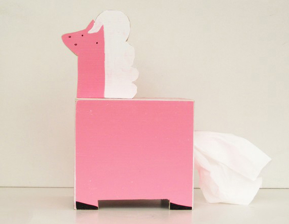 pony-tissue-holder