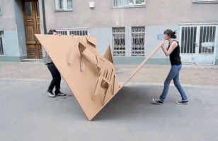 Fold Out Cardboard Furniture Design Inspired By Pop-Up Books