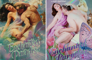 Regular People Hilariously Recreate Romance Novel Covers