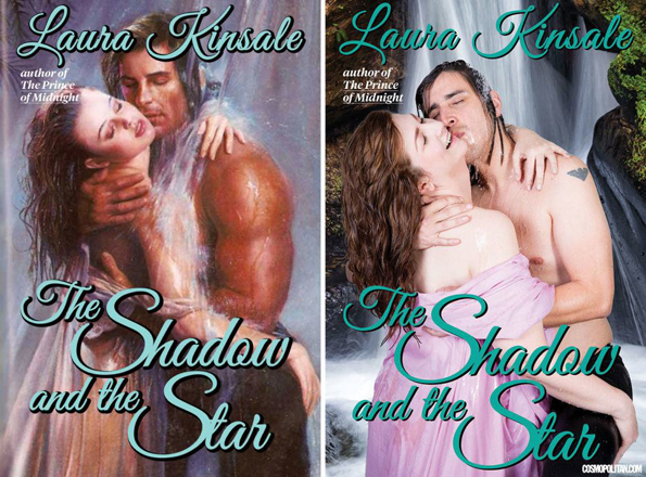 Romance Book Cover Guy ~ Regular people hilariously recreate romance novel covers