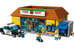 Don't Have A Cow, But Here's The LEGO Kwik-E-Mart