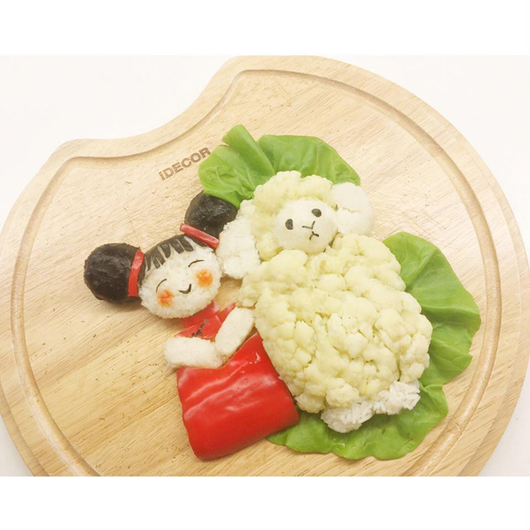 cute  u0026 whimsical food art puts your bag lunch to shame
