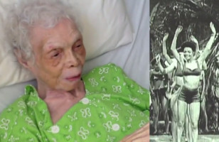 A 102 Year Old Dancer Sees Herself On Film For The First Time