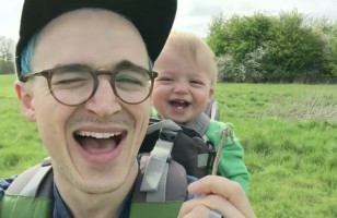 A Dandelion Sends This Baby Into An Adorable Laughing Fit