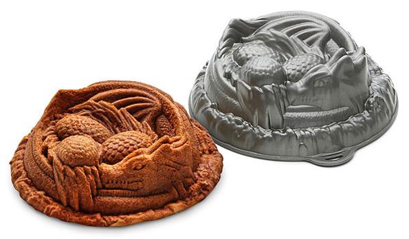Jello In Dragon Cake Pan