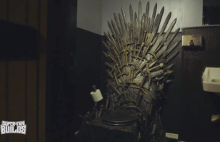 This Epic Game Of Thrones Toilet Is Fit For A King
