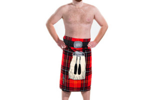 The InstaKilt Is A Beach Towel That Looks Like A Kilt
