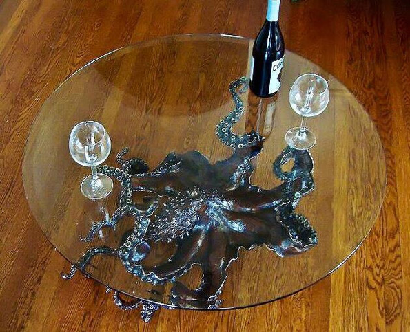 octopus-coffee-table-2 - You're Definitely Gonna Want An Octopus Coffee Table Incredible