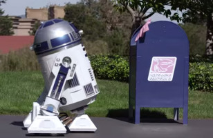 R2-D2 Falls in Love With A Mailbox In This Cute Video