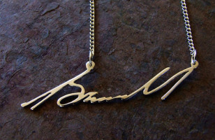 Turn Your Signature Into A One Of A Kind Necklace