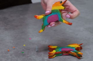 How To Make Rainbow Unicorn Cookies That Poop Stars