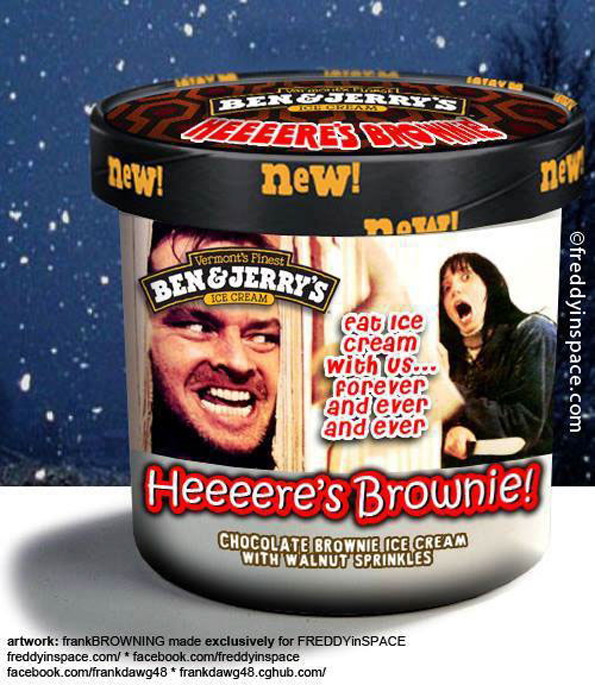 Ben & Jerry's Ice Cream Flavors Inspired By Horror Movies