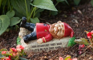 Your Yard Needs These Star Trek Garden Gnomes