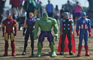 The Avengers Take Over Los Angeles