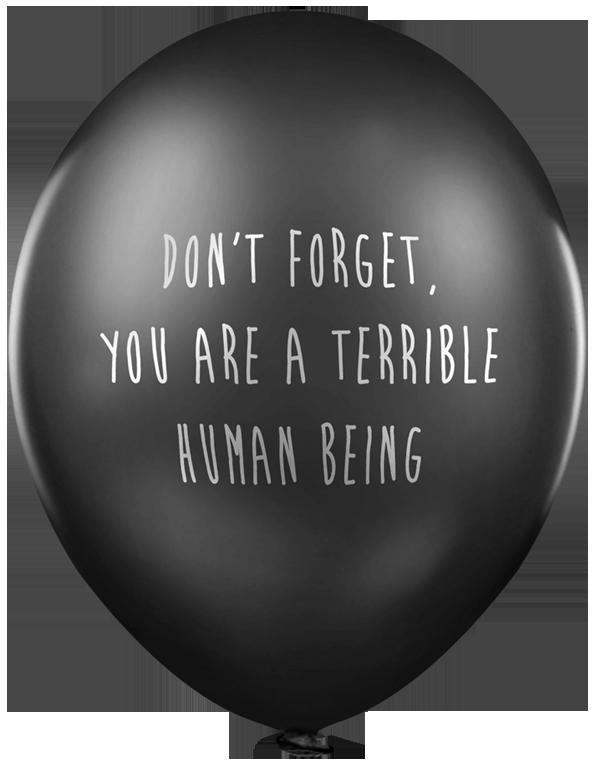 Yeti Promo Code >> Have A Dark Sense Of Humor? You'll Love Lead Balloons