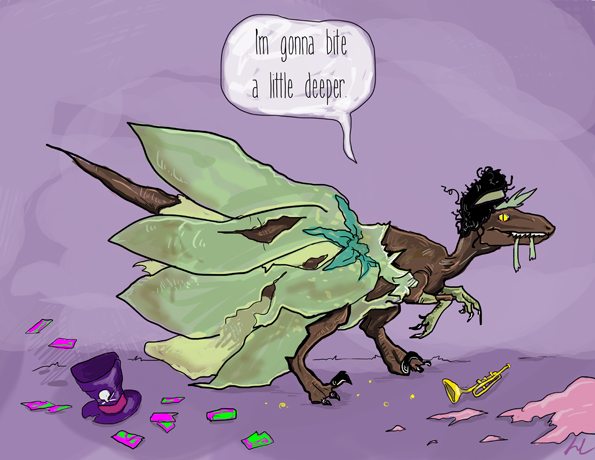 The Disney Princesses As Velociraptors