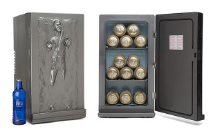 The Han Solo Frozen In Carbonite Mini Fridge Of Your Dreams