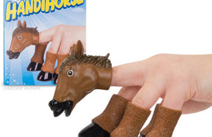 Transform Your Hand Into A Stallion With The Handihorse