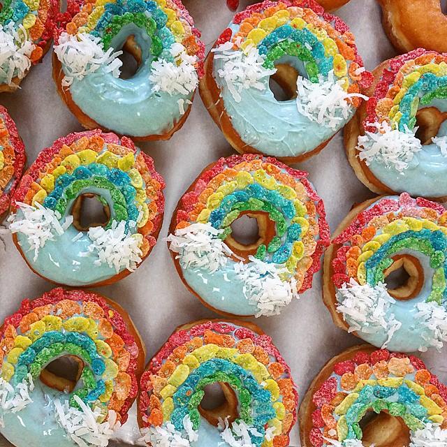 rainbow-donuts
