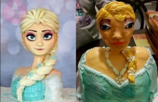 A Pretty Intense Elsa Cake Fail & More Incredible Links