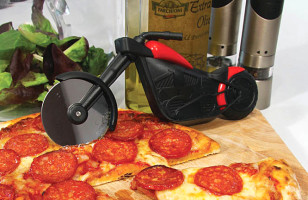 Vroom Vroom!: Slice Up Your Pie With This Motorcycle Pizza Cutter
