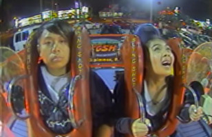 Watch This Man Ride The Slingshot Completely Emotionless