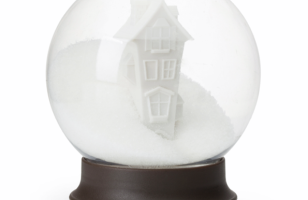 This Sugar Bowl That Looks Like A Snow Globe Is The Sweetest!