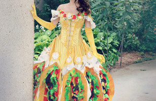 This Handmade Taco Belle Dress Is A Real Thing Of Beauty