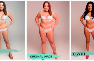 A Woman Was Photoshopped To Represent The Ideal Female Body From All Over The World…