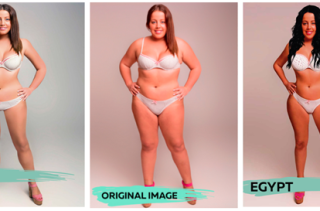A Woman Was Photoshopped To Represent The Ideal Female Body From All Over The World...