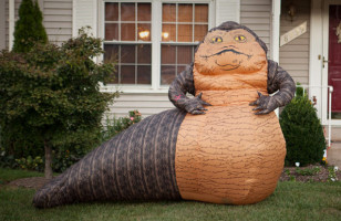 The Giant Inflatable Jabba The Hutt You Didn't Know You Needed