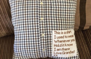 Lost Someone You Love? Turn Their Shirt Into A Pillow To Hug