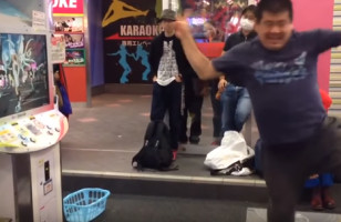 You Have Got To See This Man Kill This Dancing Arcade Game