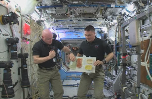 See How The Astronauts Celebrate Thanksgiving In Space