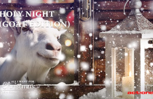 Goats Singing Christmas Carols Is The Reason For The Season