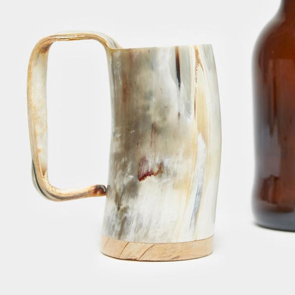 horn-mug