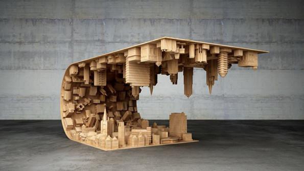 This inception coffee table is a real dream come true - Monoprix art de la table ...