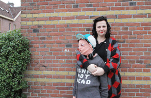 See How One Mom Knit A Life-Size Version Of Her Son