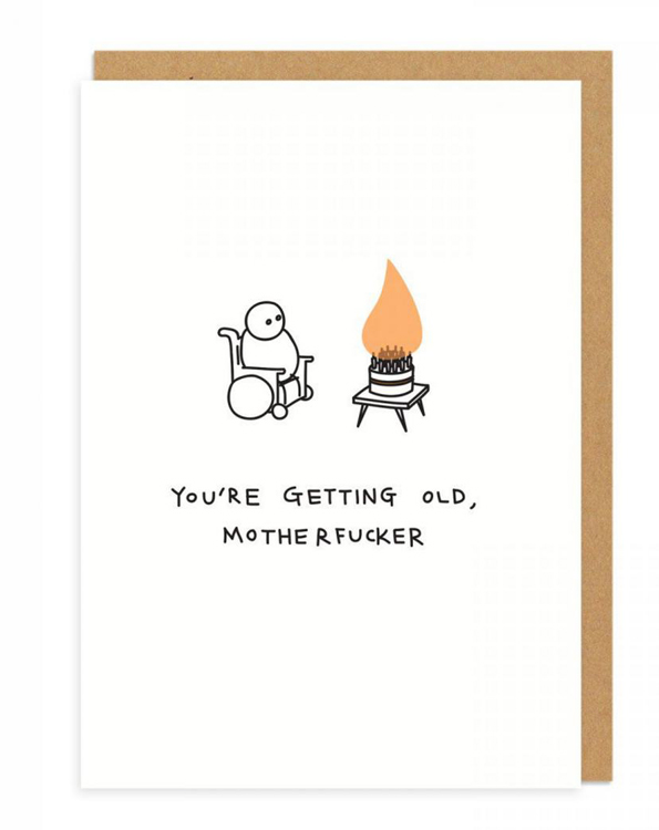 Ohh Deer Mean Greeting Cards 2