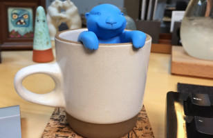 The Otter Tea Infuser Is Quite Possibly The Cutest Tea Infuser