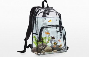 Bring A School Of Fish To School In This Aquarium Backpack