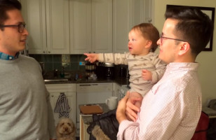 Baby Meets Her Dad's Identical Twin, Is Utterly Confused